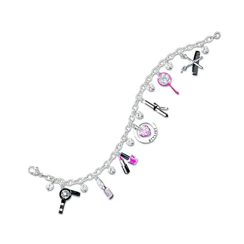 Show Your Style Fashion Charm Bracelet: Unique Gift For Her by The Bradford Exchange
