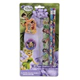 5pc Pencil Ruler Tinkerbell Stationary Set