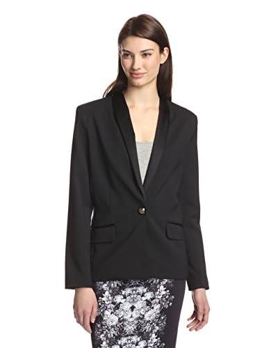 Nicole Miller Women's Lace Back Blazer