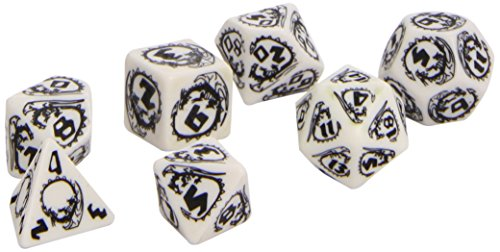 Dragon Dice White/Black (7) Board Game - 1