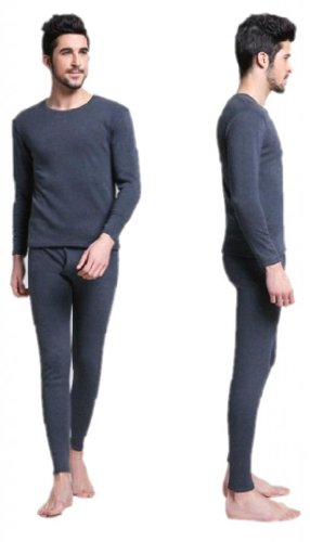 Men's Thermal Underwear Set Top & Bottom Fleece