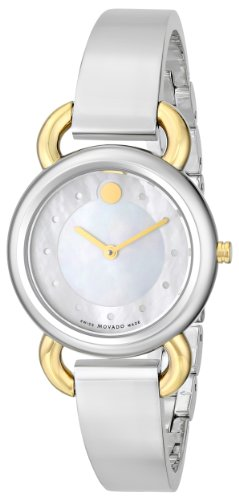 Movado 0606552 Linio Two-Toned Women's Watch - New & Authentic