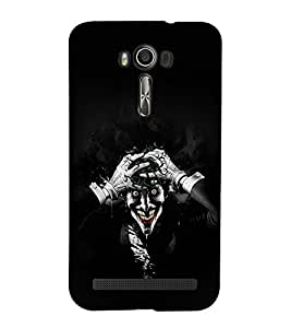 EPICCASE Joker Mobile Back Case Cover For Asus Zenfone 2 Laser ZE500KL (Designer Case)