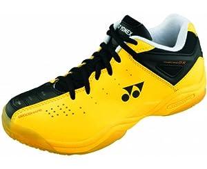 YONEX SHB01JREX Junior Badminton Shoes, Yellow, UK1
