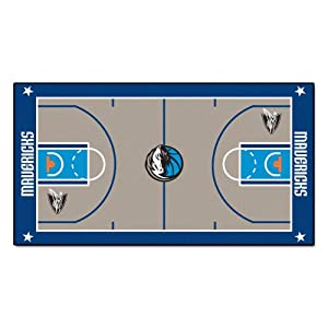 FANMATS NBA Dallas Mavericks Nylon Face NBA Court Runner-Large by Fanmats