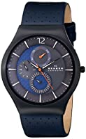 Skagen Men's SKW6149 Grenen Analog Display Analog Quartz Black Watch from Skagen Watches