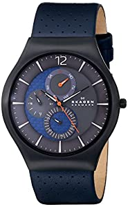 Skagen Men's SKW6149 Grenen Analog Display Analog Quartz Black Watch from Skagen Watches