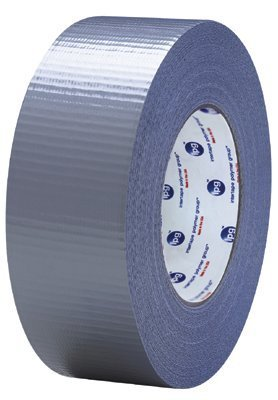 IPG AC20 Utility Grade Cloth/Duct Tape, 19 lbs/in Tensile Strength, 54.8m Length x 72mm Width, Silver (Case of 16)