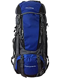 INLANDER 60L Blue Travel Bag Backpacking Backpack For Outdoor Hiking Trekking Camping Rucksack