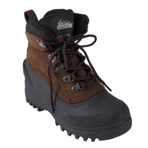 Itasca Kids Ice Breaker Microsuede Upper Lug Sole Winter Boots