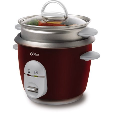 Oster 6-Cup Rice Cooker and Steamer, Removable non-stick pot (Denmark Aluminum Pressure Cooker compare prices)