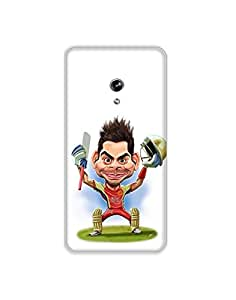 Asus Zenfone 5 nkt01 (50) Mobile Case from Mott2 - Virat Kohli Cartoon Funny (Limited Time Offers,Please Check the Details Below)