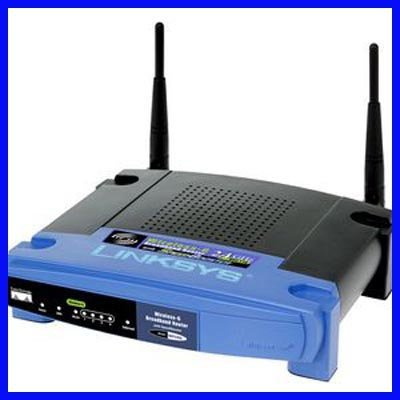 LINKSYS Wireless-G 2.4 GHz Broadband Router WRT54G V8