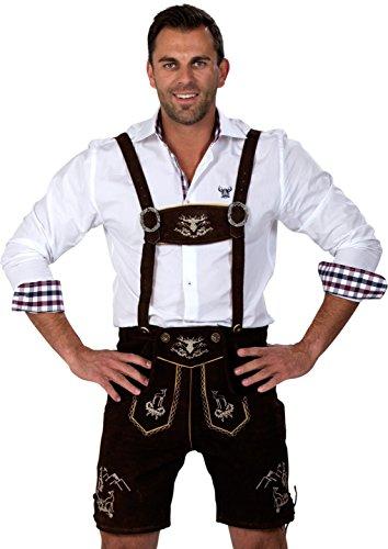 ALMWERK Allgäu -  Lederhosen  - uomo nero L