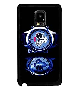 printtech Watch Chronogragh Back Case Cover for Samsung Galaxy Note i9220::Samsung Galaxy Note 1 N7000