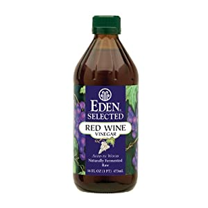 Eden Foods Selected Red Wine Vinegar -- 16 fl oz