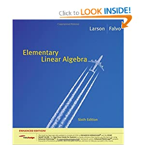 Elementary Linear Algebra, Enhanced Edition (with Enhanced WebAssign 1-Semester Printed Access Card) (Available 2010 Titles Enhanced Web Assign) ebook downloads