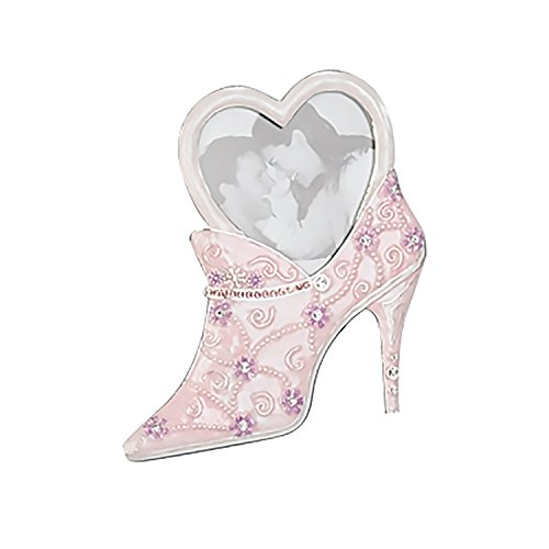 GLITTERING HIGH HEEL HEART PHOTO FRAME - Picture Frame (Pictures Of High Heels compare prices)