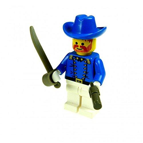 1 x Lego System Figur Kavallerie Oberst Soldat