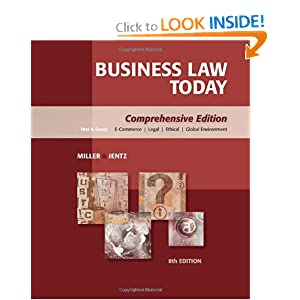 Download book Business Law Today: Comprehensive