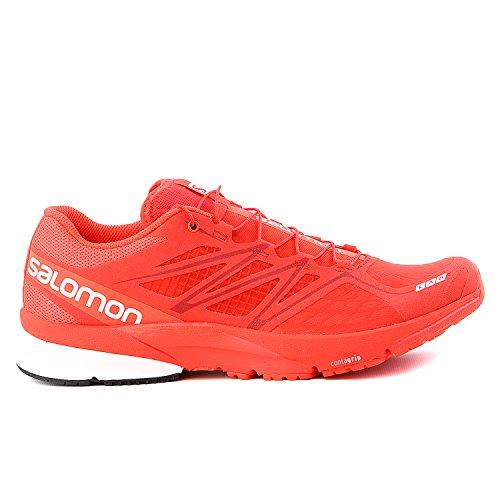 Salomon 2015 Unisex S-Lab X-Series Trail Running Shoe (Racing Red/Racing Red/White - 9)