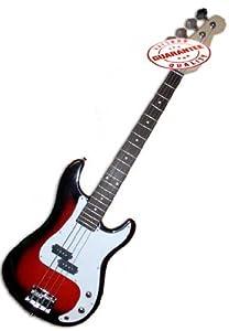 Electric Bass Guitar Starter Set, Cherry Burst by Other