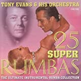 Tema International Ltd 25 Super Rumbas CD Music For Dancing recorded in tempo for music teaching performance or general listening and enjoyment