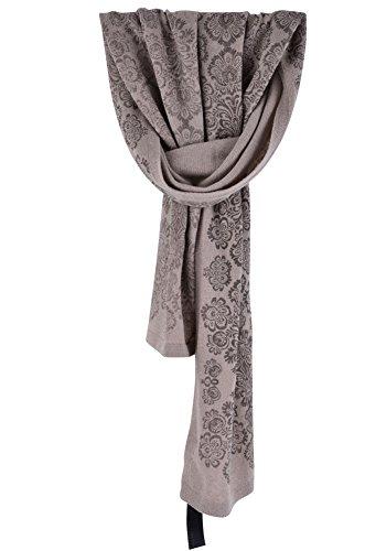 Gianfranco Ferre Sciarpa Beige Viscose/rayonne Modal cotone 172cm x 71cm