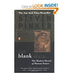 The Blank Slate: The Modern Denial of Human Nature by Steven Pinker