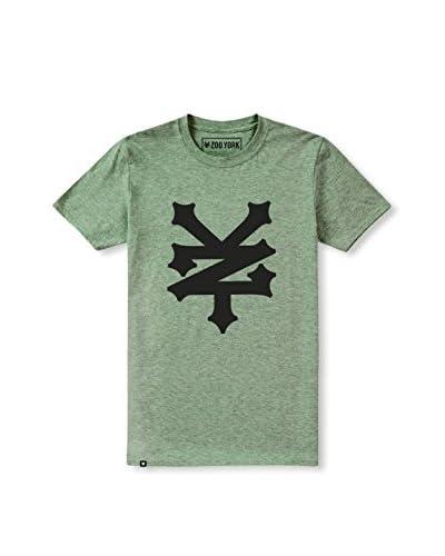 Zoo York Camiseta Manga Corta Corning Verde Menta
