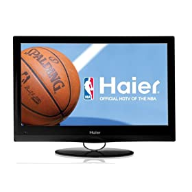 Haier HL19SL2 Black 19-Inch Ultra Slim LED LCD HDTV