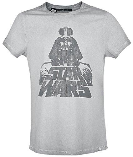 Star Wars Sound Array - Vader T-Shirt grigio chiaro L