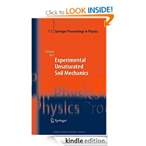 Experimental Unsaturated Soil Mechanics (Springer Proceedings in Physics) Tom Schanz