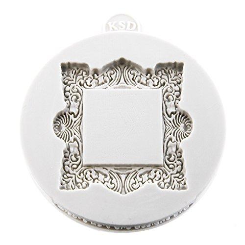 Miniature Frames - Vintage Square Embellishment Cake Mold