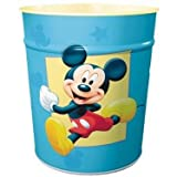 CHILDRENS BEDROOM DISNEY MICKEY MOUSE / MINNIE MOUSE / DONALD DUCK METAL WASTE PAPER BIN