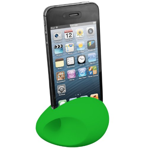 Exact (Tm) Silicone Speaker For Iphone 5/Iphone 5S Green