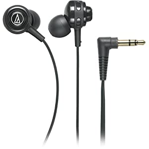 (新品)Audio-Technica铁三角 ATH-COR150BK低音入耳式耳机 Core Bass In-Ear,$18.61