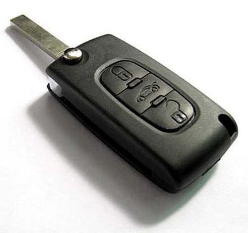 INION-CiTRKS03A-Set-1x-Ersatz-Schlsselgehuse-3-Taste-Autoschlssel-innen-mit-Batterieklemme-Schlssel-Fernbedienung-Funkschlssel-Gehuse-ohne-Elektronik-2x-Stck-KFZ-Autolampen-T10-Sockel