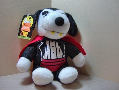Peanuts Plush Halloween Snoopy Count Dracula Vampire - 1
