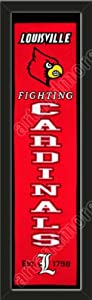 Heritage Banner Of Louisville Cardinals-Framed Awesome & Beautiful-Must For A... by Art and More, Davenport, IA