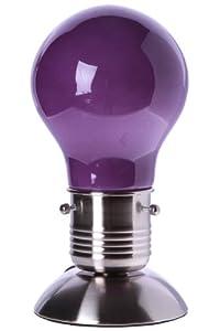 lampe touche tactile design ampoule 3 intensit s de couleur autour du rose parme. Black Bedroom Furniture Sets. Home Design Ideas
