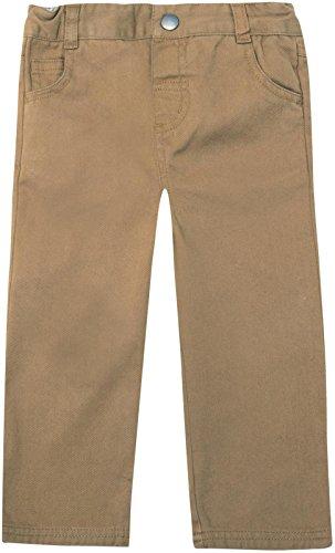 JoJo Maman Bebe Straight Leg Pants (Baby) - Fawn-12-18 Months