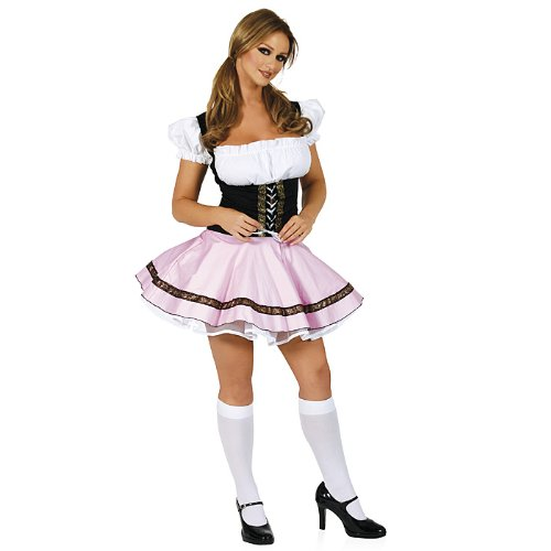 Beer Wench Costume - Small/Medium - Dress Size 2-6