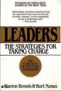 Leaders The Strategies for Taking Charge, by Warren Bennis & Burt Nanus