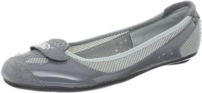 Puma Women's Zandy Shoe,Steel Grey/Limestone Grey/Silver,5.5 B US