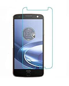 Royal Touch ( TM) MOTOROLA MOTO Z TEMPERED GLASS SCREEN PROTECTOR / BUBBLE FREE APPLICATION / HOLE FOR FRONT PROXIMITY SENSOR / NO HANGING PROBLEM /HIGH QUALITY JAPANESE AGC GLASS MATERIAL / 9H HARD / 2.5D GLASS / 0.25MM THICKNESS