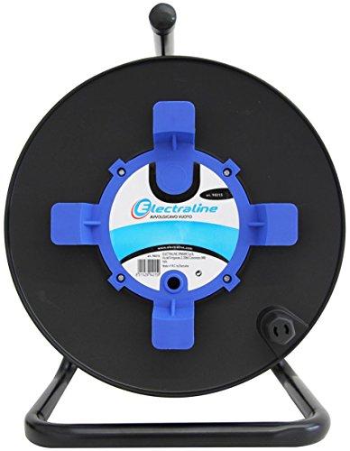 electraline-94015-avvolgicavo-avvolgi-prolunghe-vuoto-misura-50-metri-senza-cavo-adatto-alla-casa-uf