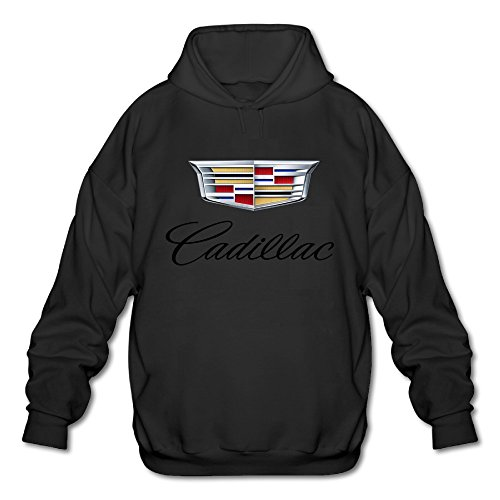 mens-cadillac-logo-hoodies-black