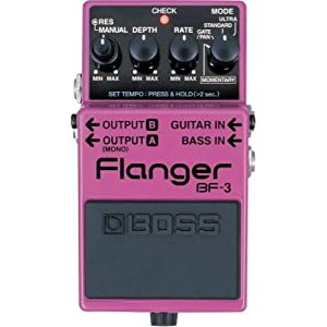 Good deal on Boss BF-3 Flanger at Amazon
