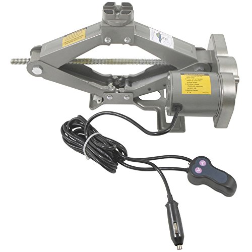 Cric elettrico 12 V, in acciaio, Solleva fino a 1500 kg